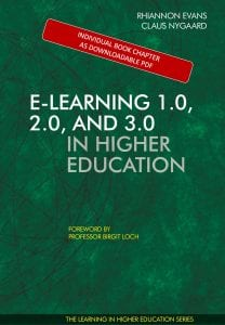 E-learning 1.0, 2.0 and 3.0 in Higher Education - book chapter - E-learning Strategy